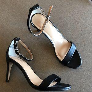 Express Black Heels Size 6